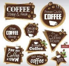 咖啡标签图片