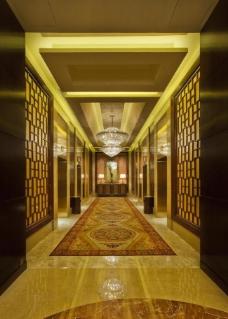 酒店电梯厅图片