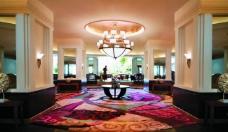 五星级酒店大堂图片