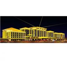 五星级酒店亮化工程图片