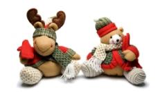 圣诞玩偶图片