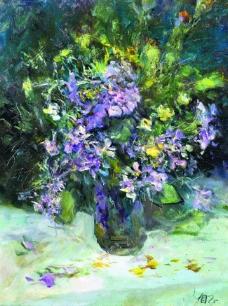 涓夋湡 CCC 29花卉水果蔬菜器皿静物印象画派写实主义油画装饰画