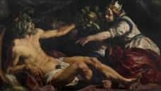 Abraham Janssens  Scaldis and Antverpia比利时画家亚伯拉罕汉森斯abraham janssens印象派人物人体静物风景油画装饰画
