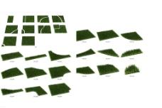 草地 草模型图片