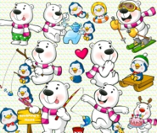 卡通熊图片