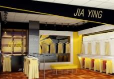 服装店设计图片