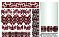 欧式刺绣地毯无缝花纹图片