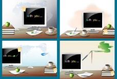 商务联络 抽象商务图片